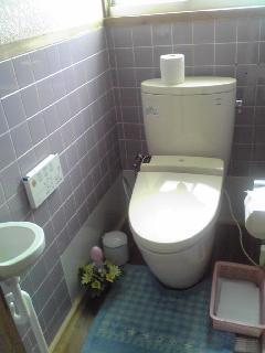 リフォームトイレ