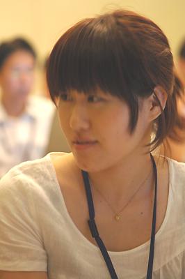 受講者 京屋酒造のマドンナ:松田さん
