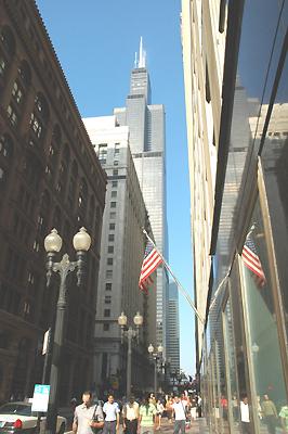 シアーズタワー 一番高いビル