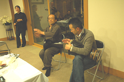 吉口さんと飛び入り参加の中村さん