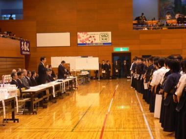 090429秩父神社奉納第52回埼玉県下武道大会
