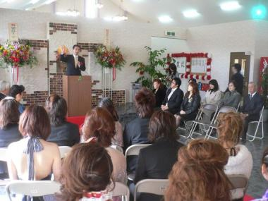 090307平成20年度グルノーブル美容専門学校卒業式