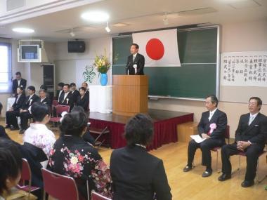 090308学校法人葵学園埼玉医療福祉専門学校第6期生38名卒業式