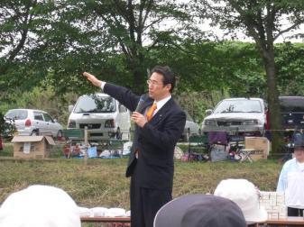 090604川本地区福寿会グランドゴルフ大会
