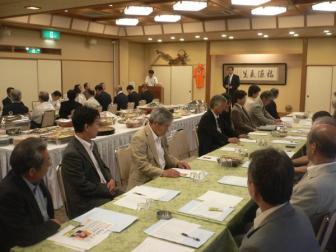 090705埼玉県第11選挙区支部議員総会
