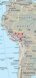 アンデス文明地図