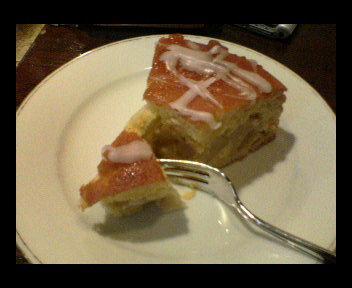 ドイツ風アップルケーキ