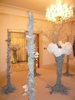 イギリス館のコスタリカのクリスマス装飾