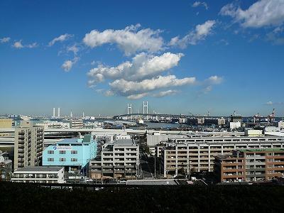 港の見える丘公園からの眺め2