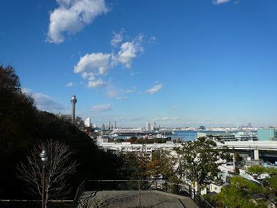 港の見える丘公園からの眺め1