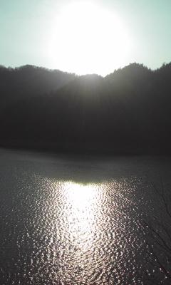 水鏡の太陽