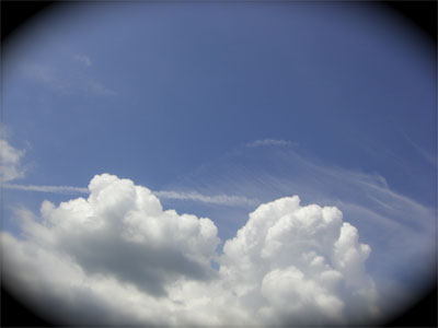 飛行機雲CIMG1968