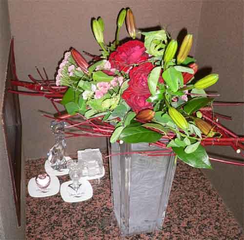ホリゾンタルの花束