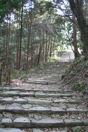 安土城階段