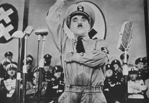 チャップリンの『独裁者』(なんと意外に1940年公開!)