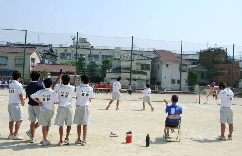 25 テニス試合風景 男子