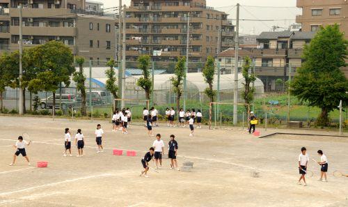27 テニス練習