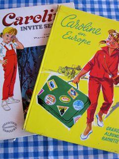 カロリーヌ 2冊 表紙