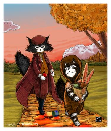 紳士と子猫2