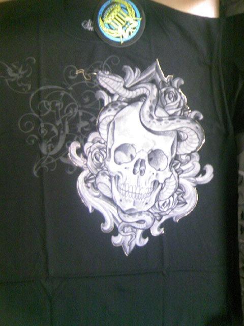 SS Serpentine Skull Tee 3-1z