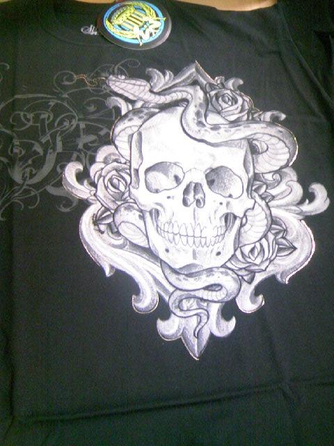 SS Serpentine Skull Tee 3-2z