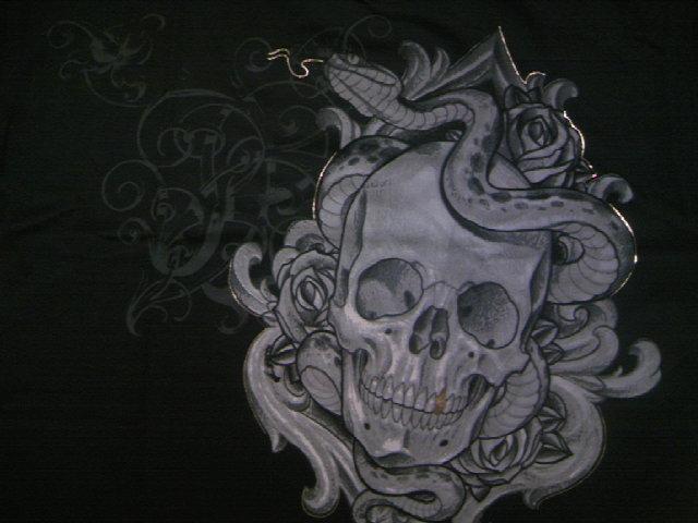 SS Serpentine Skull Tee 3-3