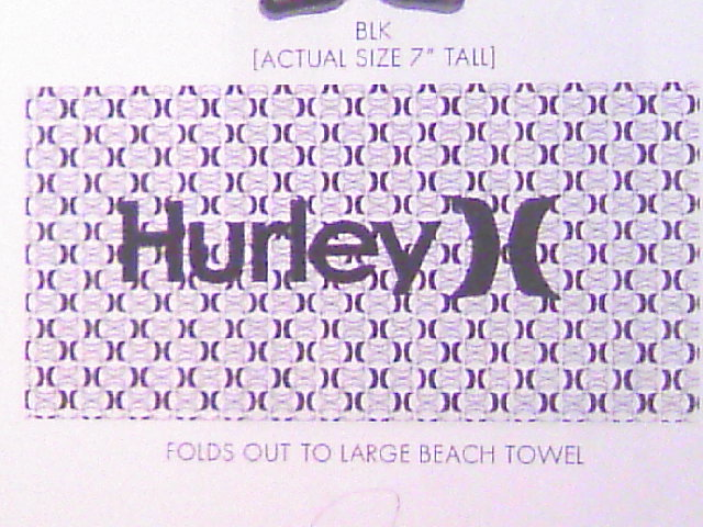 Hurley Compressed タオル 1-1``