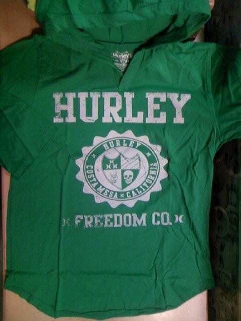 Hurley Americana 7部ソデ フードT 1-1z