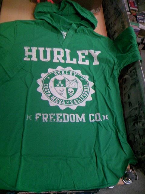 Hurley Americana 7部ソデ フードT 1-2z