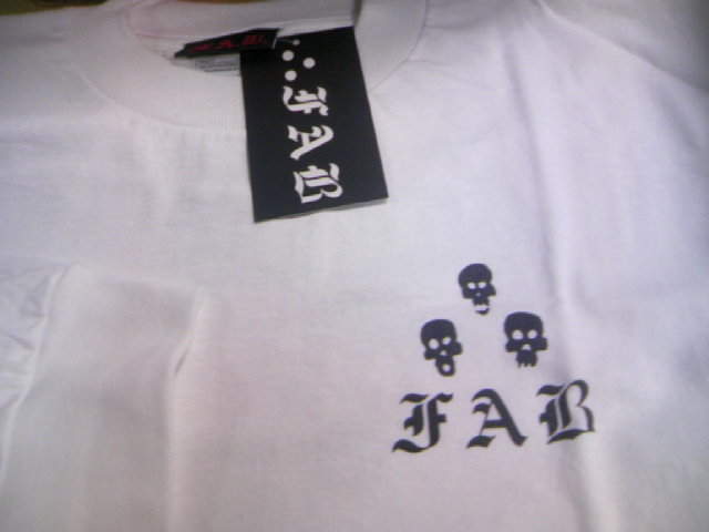 FAB 3Dots Skull LS-T 2-2