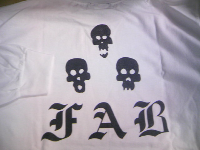 FAB 3Dots Skull LS-T 2-4