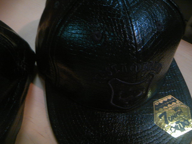Nesta Lion Leather Cap 3-6