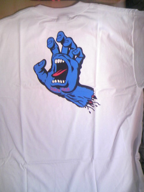 SCSK8 Screaming Hand Tee 1-3z