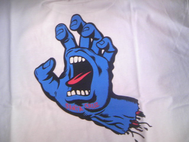 SCSK8 Screaming Hand Tee 1-4