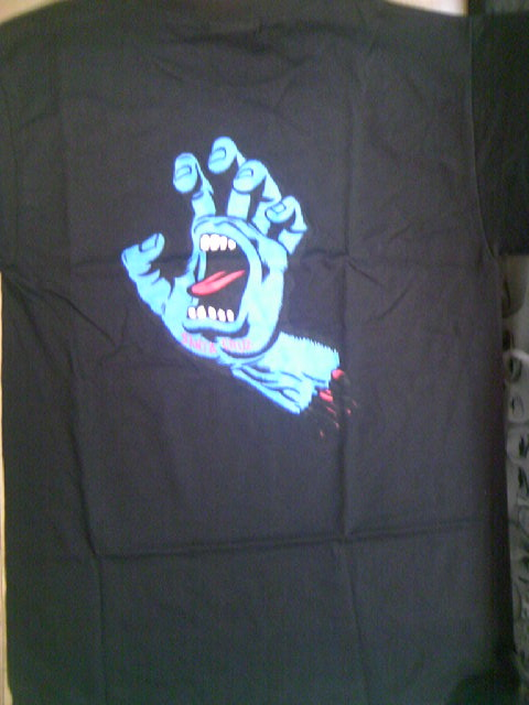 SCSK8 Screaming Hand Tee 1-7z
