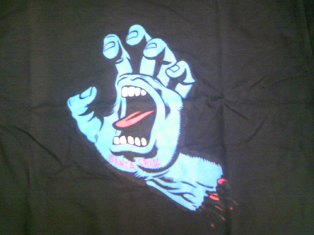 SCSK8 Screaming Hand Tee 1-8