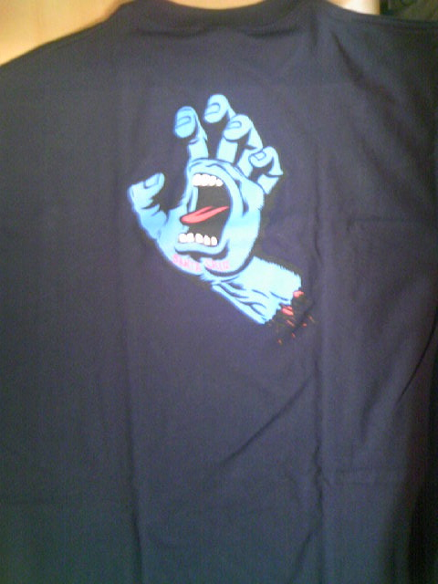 SCSK8 Screaming Hand Tee N-3z