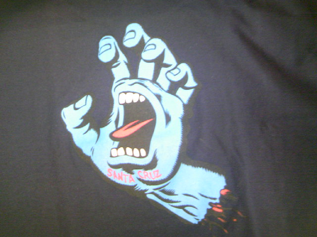 SCSK8 Screaming Hand Tee N-4
