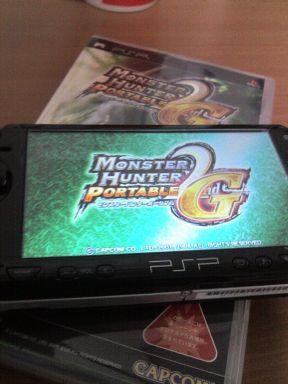PSPとモンハンP2G