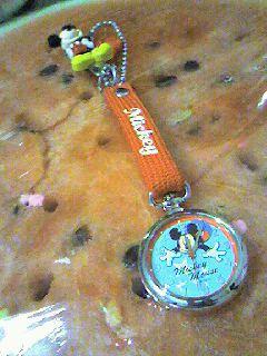 スイカと時計