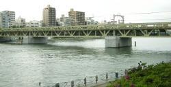 隅田川鉄橋1