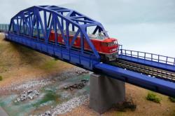 鉄橋レイアウト1