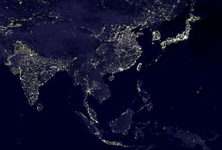 アジアの夜