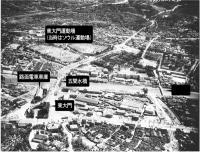 東大門(興仁之門)と周辺の清渓川の様子