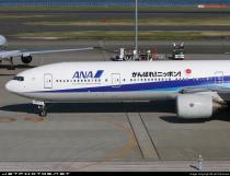 ANA B-777-381 JA757A JET RIKIMARU