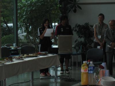 2009 全広島サッカー選手権大会 優勝祝賀会(明日香)
