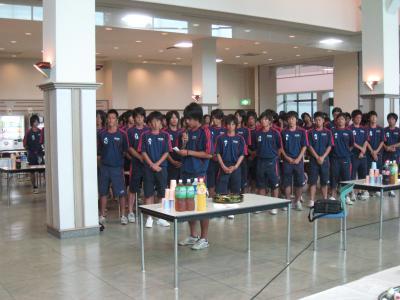 2009 全広島サッカー選手権大会 優勝祝賀会(彰泰)