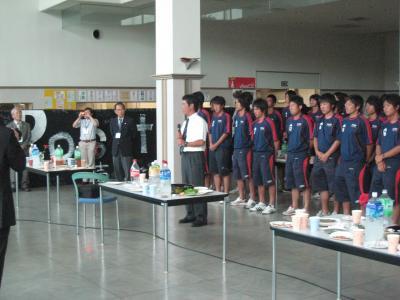 2009 全広島サッカー選手権大会 優勝祝賀会(監督)