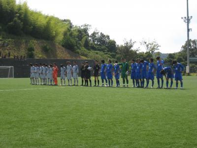 2009 中国L 第9節 vs東亜大 「整列」