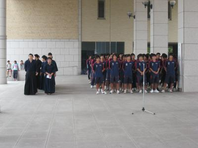 2009 天皇杯 壮行式(全体)